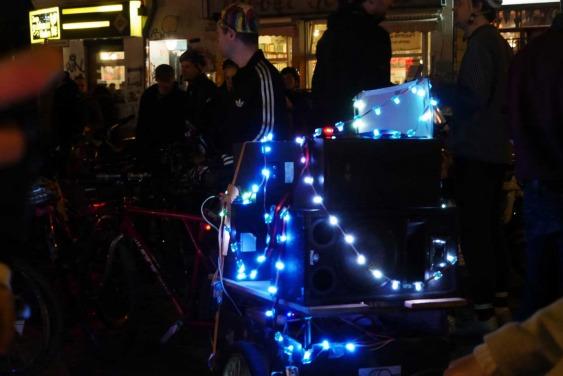 Night Ride Berlin, Bicycling meetup, Fahrradtour