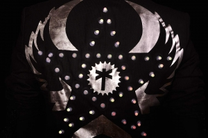 LED Jacket silver star