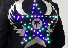 LED Jacket workshop Fab Lab Berlin star jacket