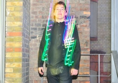 LED Jacket workshop Fab Lab Berlin der puppe