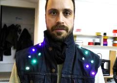 LED Jacket workshop Fab Lab Berlin daniel graf