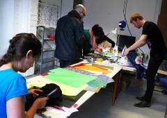 LED Jacket workshop Fab Lab Berlin