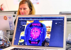 LED Jacket workshop Fab Lab Berlin software