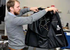 LED Jacket workshop Fab Lab Berlin jacket