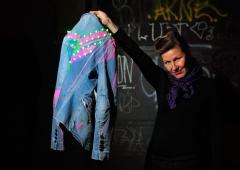 LED Jacket workshop Fab Lab Berlin yuki